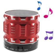 S28 Metalen Mini Bluetooth Speaker - Rood