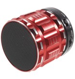 S28 Metalen Mini Bluetooth Speaker - Rood