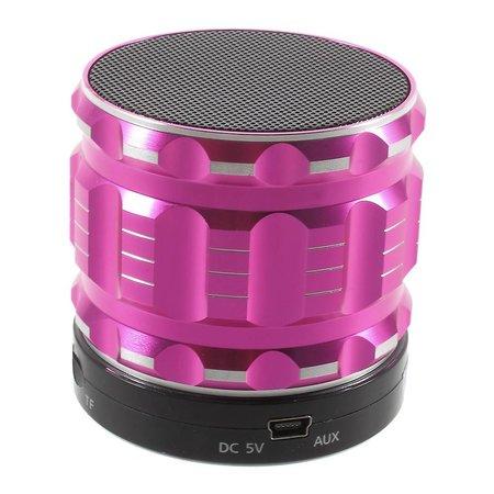 S28 Metalen Mini Bluetooth Speaker - Roze