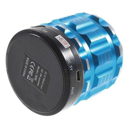 S28 Metalen Mini Bluetooth Speaker - Blauw