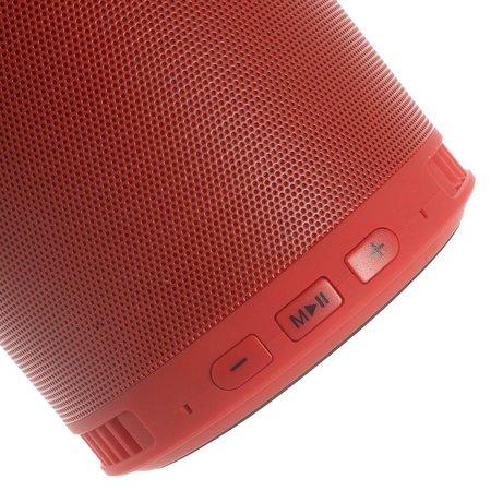 Multifunctionele Bluetooth Speaker met Standfunctie - Rood