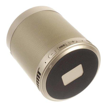 Multifunctionele Bluetooth Speaker met Standfunctie - Goud