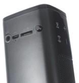 SL-1000S Dual Mega Bass NFC Bluetooth HiFi Speaker - Zwart