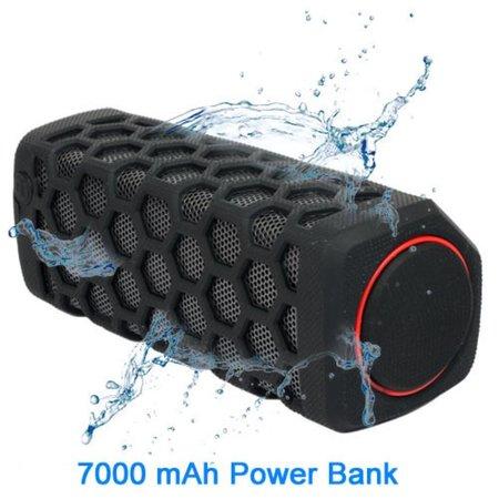 2-in-1 10W Waterbestendig Bluetooth Speaker met Built-in Powerbank