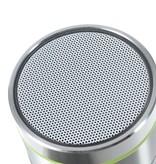 S07D Metalen Bluetooth Speaker - Zilver