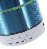 S07D Metalen Bluetooth Speaker - Blauw