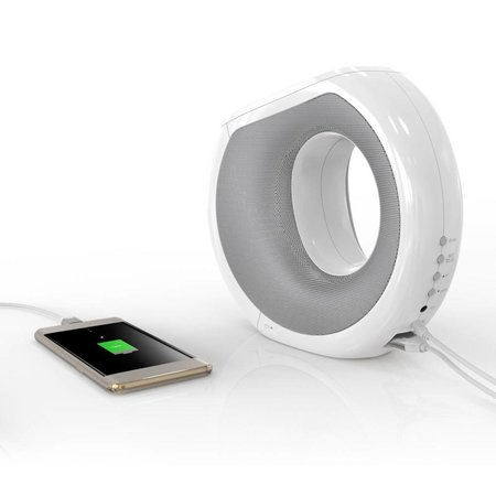 Nillkin Nillkin 2-in-1 NFC Bluetooth Speaker + Qi Draadloze Oplader