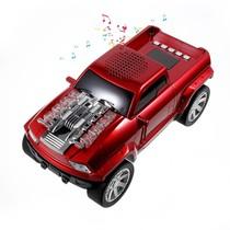 Pick-Up Truck Design Bluetooth Speaker - Rood