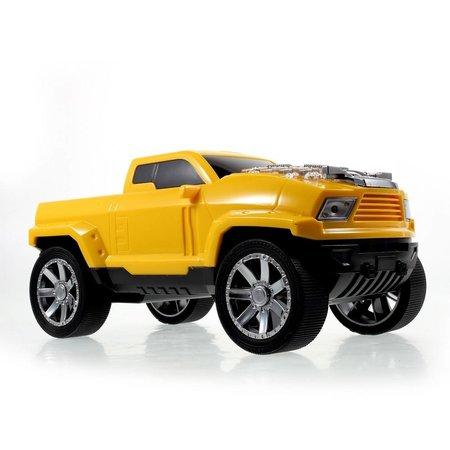 JKR JKR Pick-Up Truck Design Bluetooth Speaker - Geel