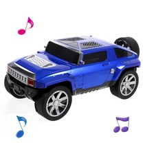 Off-road Auto Design Bluetooth Speaker - Blauw
