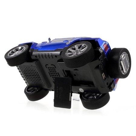 JKR JKR Off-road Auto Design Bluetooth Speaker - Blauw