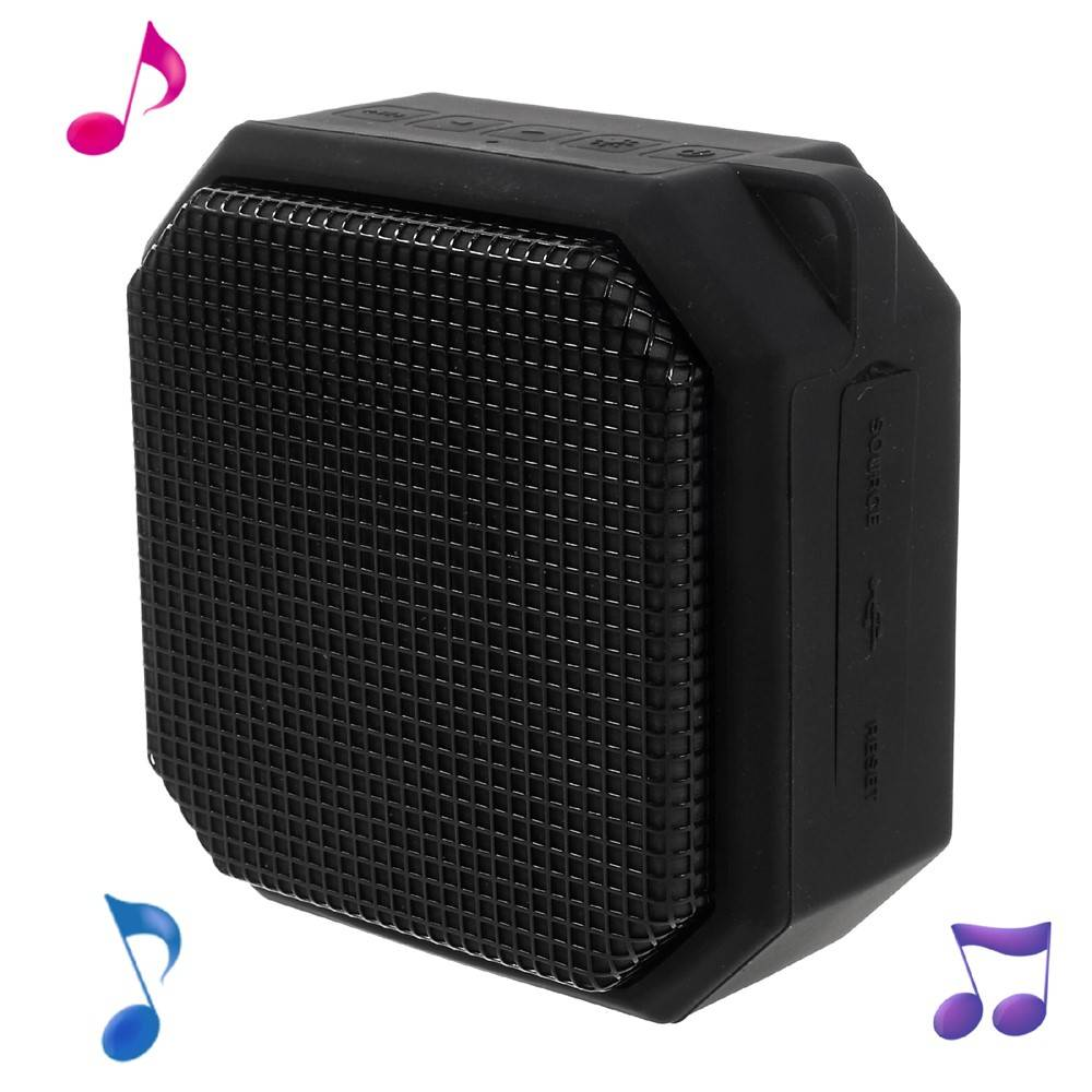 X3 LED Bluetooth Speaker - Zwart
