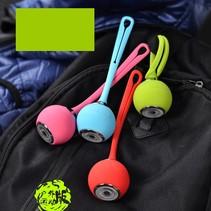 Waterbestendige Sport Bluetooth Speaker met Siliconen Band - Blauw