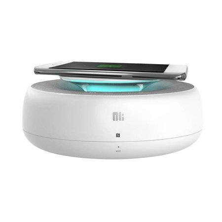 Nillkin Nillkin 2-in-1 NFC Bluetooth Speaker met Qi Draadloze Oplader - Wit