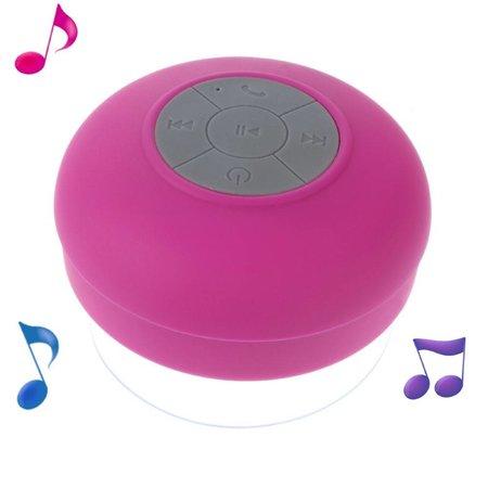 Bluetooth Speaker met Zuignap - Roze
