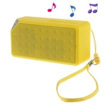 Bluetooth Speaker met Polsband - Geel