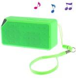 Bluetooth Speaker met Polsband - Groen