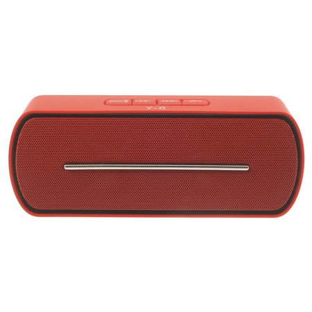 Y8 Super Bass Bluetooth Speaker - Rood