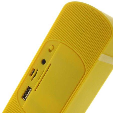 Y8 Super Bass Bluetooth Speaker - Geel