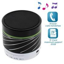 S07 Metalen Bluetooth Speaker - Zwart
