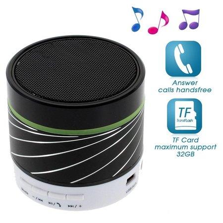 Gaoke Gaoke S07 Metalen Bluetooth Speaker - Zwart