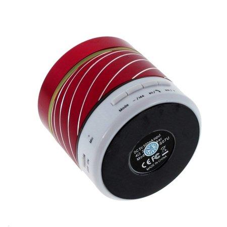 Gaoke Gaoke S07 Metalen Bluetooth Speaker - Rood