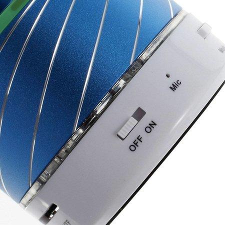 Gaoke Gaoke S07 Metalen Bluetooth Speaker - Blauw