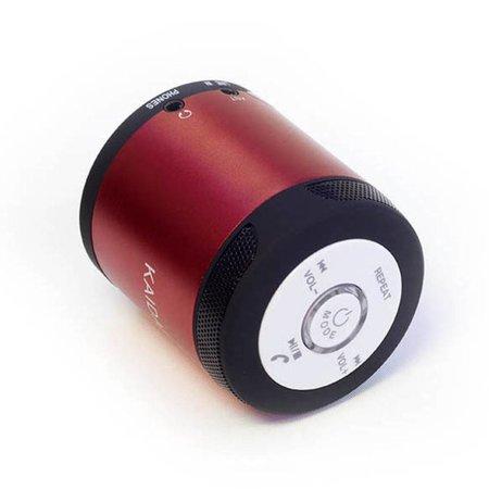 Kaidaer Kaidaer Wireless Bluetooth Stereo Speaker - Rood
