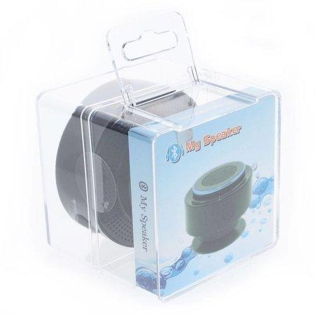 Bluetooth Speaker met Zuignap - Rood