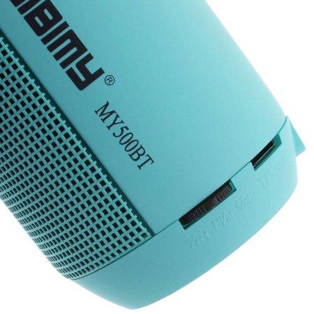 Aibimy Aibimy MY500BT Lichtgevende Bluetooth Speaker - Blauw
