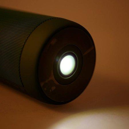 T2 Outdoor Bluetooth Speaker met Zaklamp - Groen
