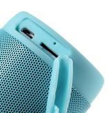T2 Outdoor Bluetooth Speaker met Zaklamp - Blauw