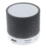 A9 LED Bluetooth Speaker Barstjes Design - Zwart