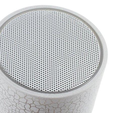 A9 LED Bluetooth Speaker Barstjes Design - Wit
