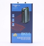 CAGER BK50 Laser Projection Virtual Bluetooth Keyboard + Bluetooth Speaker + Power Bank 3-in-1