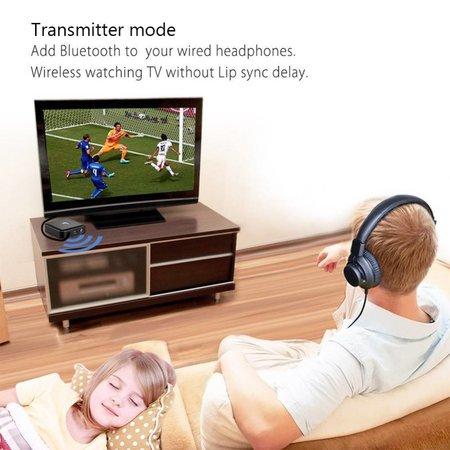 Bluetooth 4-in-1 Audio Transmitter en Ontvanger tot maximaal 2 apparaten