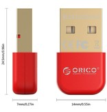 Orico Orico BTA-403 Mini USB Bluetooth 4.0 Adapter Dongle - Rood
