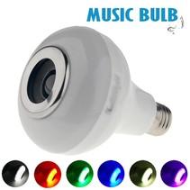E27 5W Bluetooth Smart LED Licht Lamp met Speaker