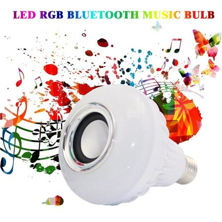 E27 5W Bluetooth Smart LED Licht Lamp met Speaker