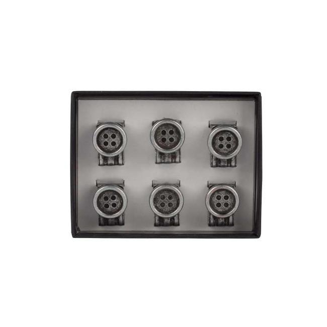 Mr. Crevan Clip On Buttons (Ansteckknöpfe) Hosenträger