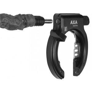 AXA AXA Ringslot Solid Plus + Zwart