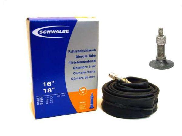 Binnenband 16X11-8-13-8 Schwalbe Dunlop Ventiel (32) Dv4