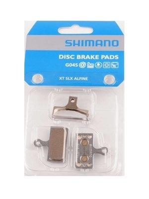 Shimano Schijfremblokset Shimano Deore XT G04S Metal BR-M8000