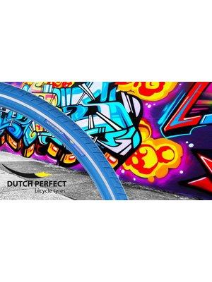 Dutch Perfect Dutch Perfect Buitenband 40-635 / 28x1-1/2 Blauw met Reflectie No-Punctur