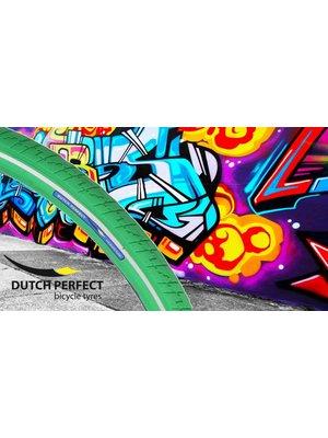 Dutch Perfect Dutch Perfect Buitenband 50-622 Groen-Reflex