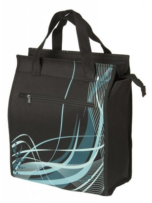 M-Wave Tas Shopper M-Wave Black-Fancy