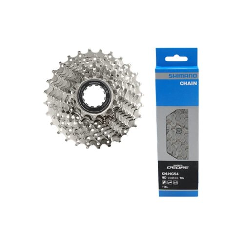 Shimano Cassette Shimano HG500 10-Speed 11-25T + HG54 ketting