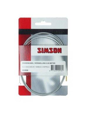 Simson Simson Versnelling Binnenkabel 2,25m