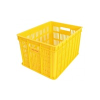 Fietskrat Edge Urban Crate - Medium - Geel