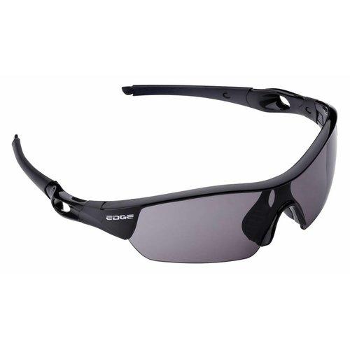 Edge Fietsbril Edge Ventoux met etui en 4 lenzen - zwart